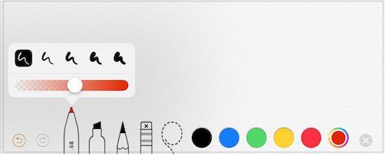 iPadAir2(ios12)で改良されたペン