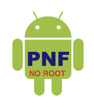 Androidのアプリ「PNF No-Root」