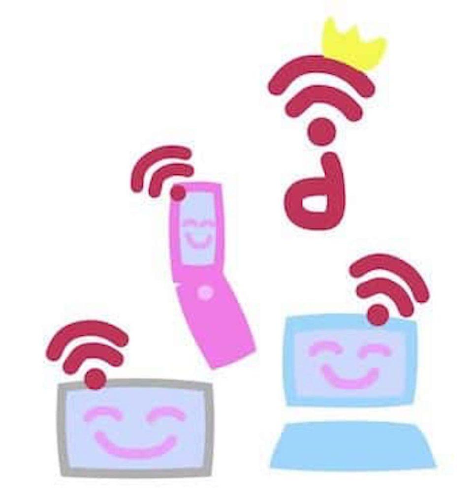 Wi-Fiに繋がる端末達