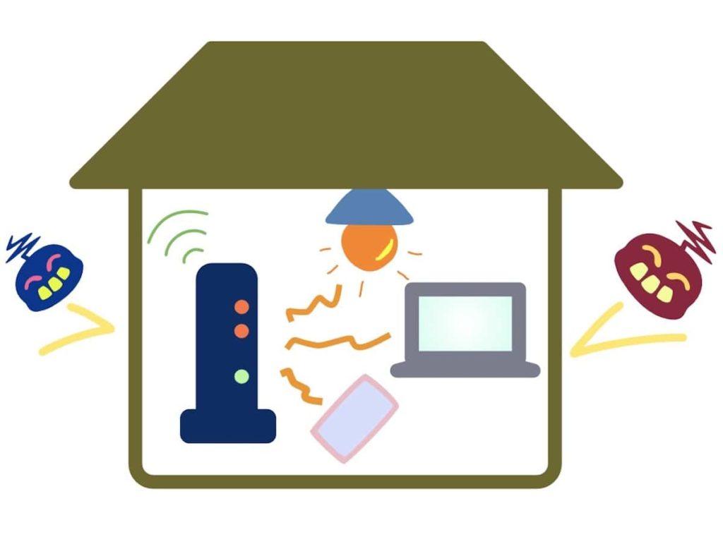 家のインターネットセキュリティ