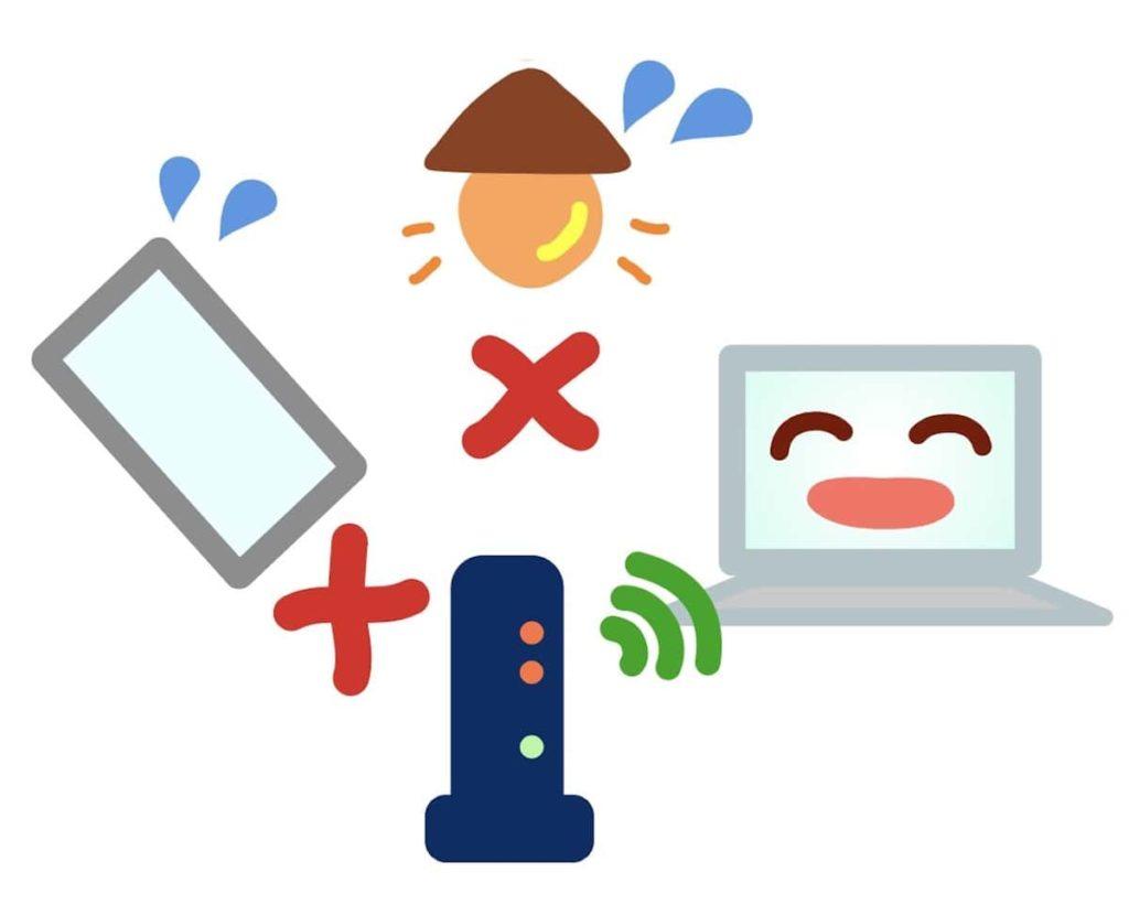 Wi-Fiルーターの接続トラブル