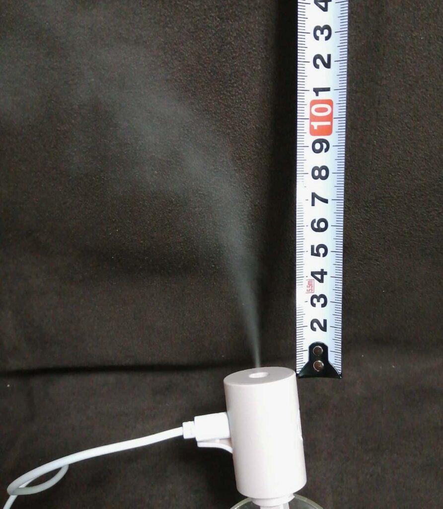 付録の小型超音波式加湿器ミスト