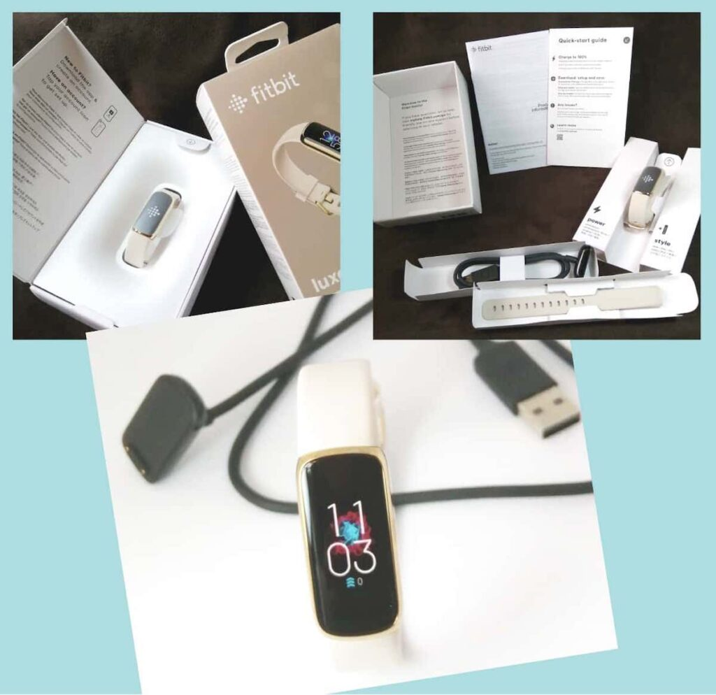 『Fitbit Luxe』を開封