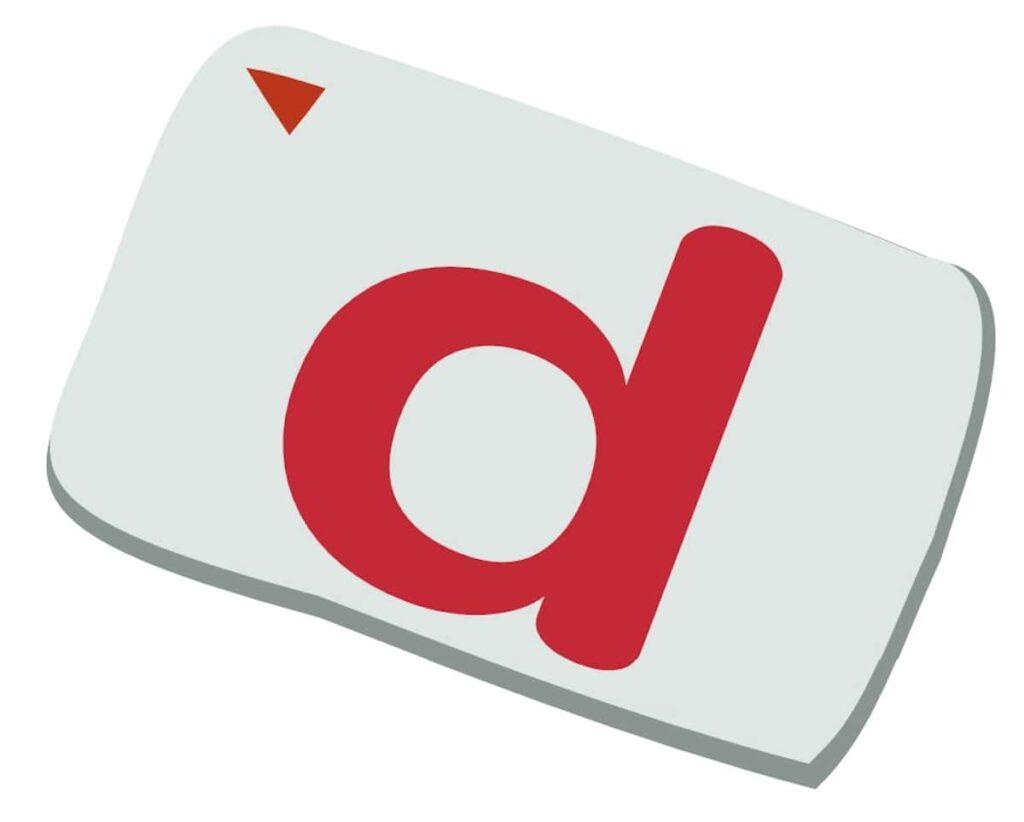 dマークのカード